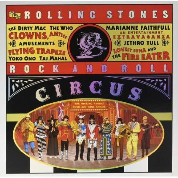 Box The Rolling Stones - Circus (Expanded Edition - 3 LP's - IMPORTADO)