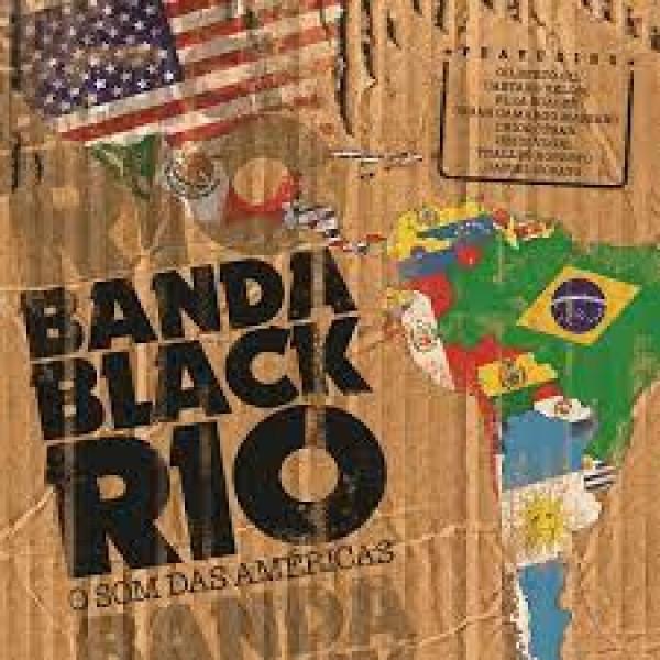 LP Banda Black Rio - O Som Das Américas