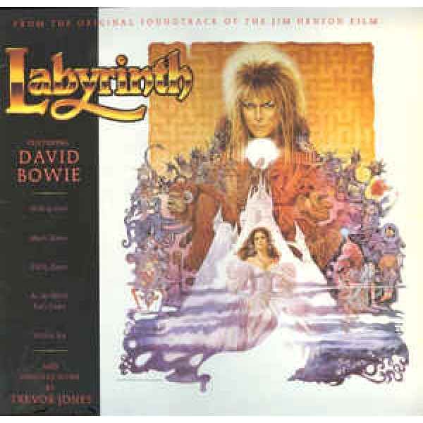 LP David Bowie/Trevor Jones - Labyrinth (O.S.T. - IMPORTADO)