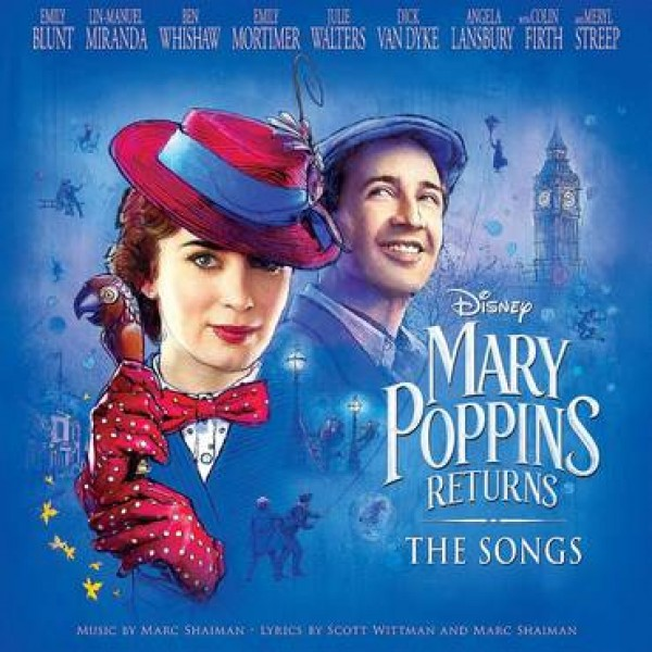 LP Mary Poppins Returns - The Songs (O.S.T. - IMPORTADO)
