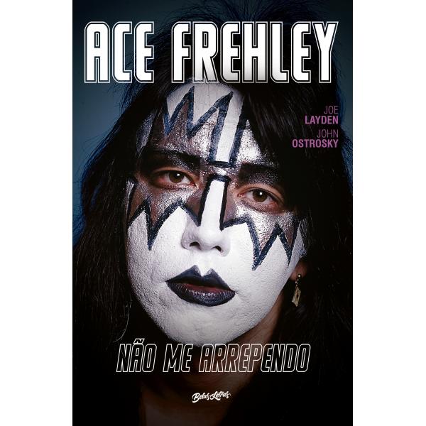 Livro Ace Frehley - Não Me Arrependo