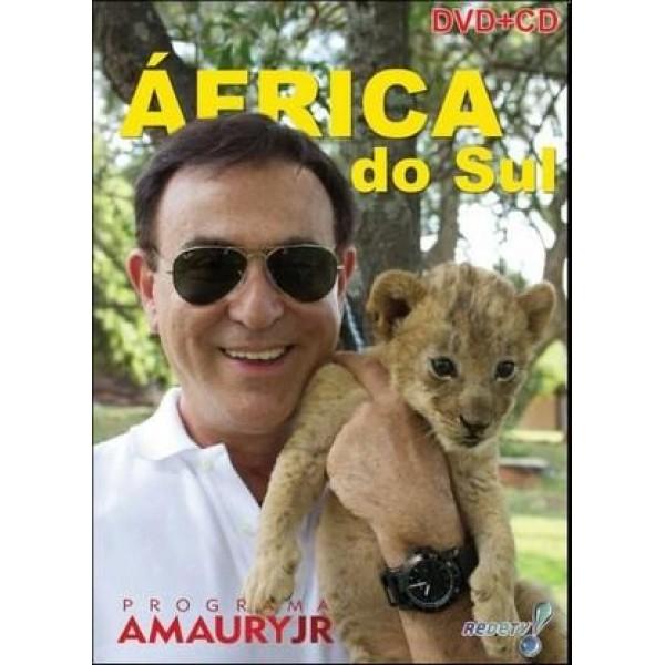 DVD + CD Programa Amaury Jr. - África do Sul