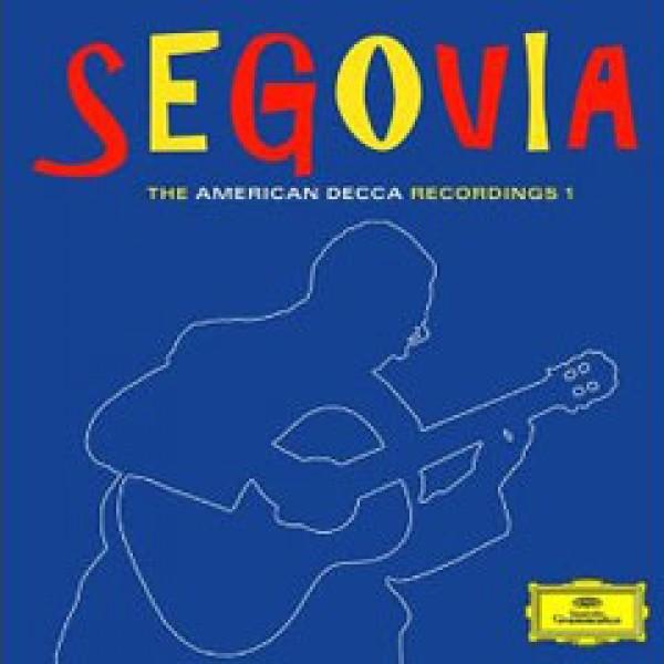 Box Andrés Segovia - The American Decca Recordings 1 (6 CD's)