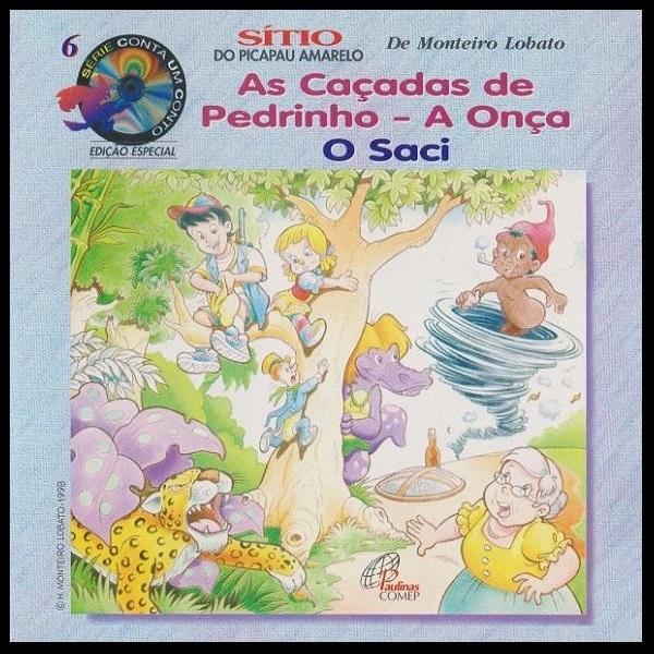 CD Sítio do Picapau Amarelo - As Caçadas de Pedrinho (Série Conta Um Conto)