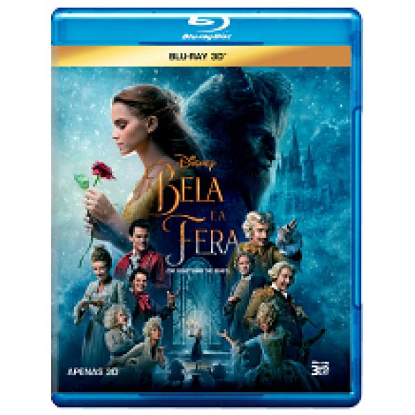 Blu-Ray 3D A Bela E A Fera