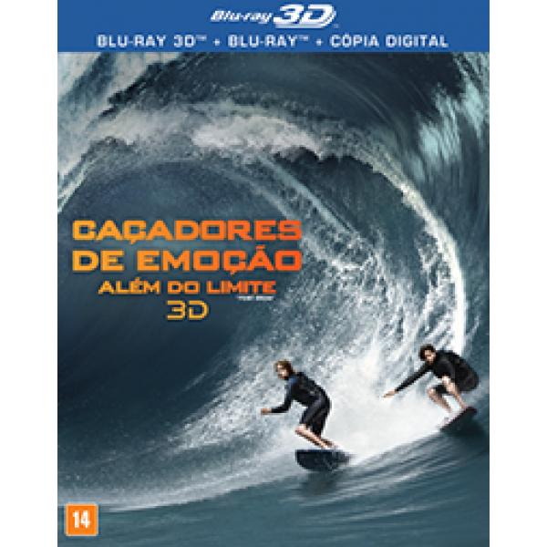 Blu-Ray 3D Caçadores de Emoção - Além do Limite