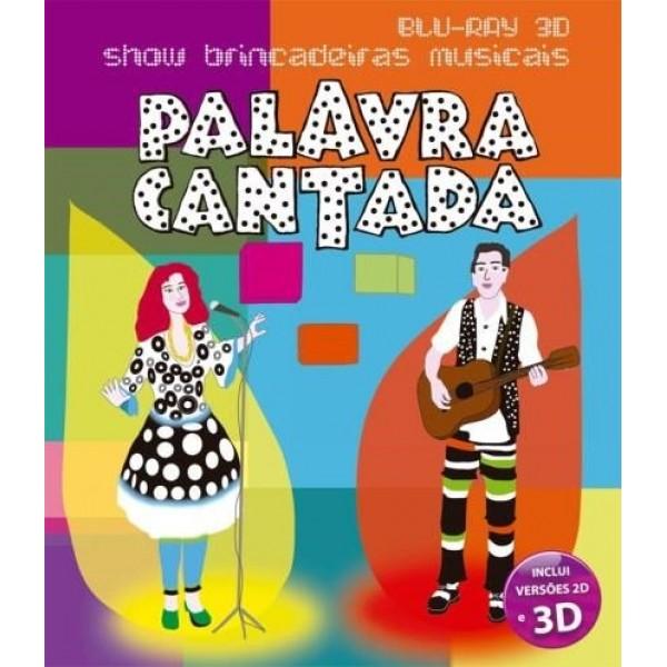 Blu-Ray 3D Palavra Cantada - Show Brincadeiras Musicais