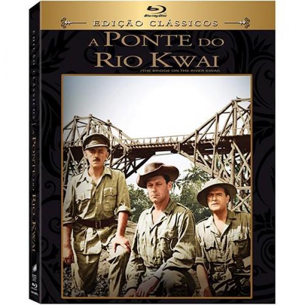 Blu-Ray A Ponte do Rio Kwai (Edição Clássicos)