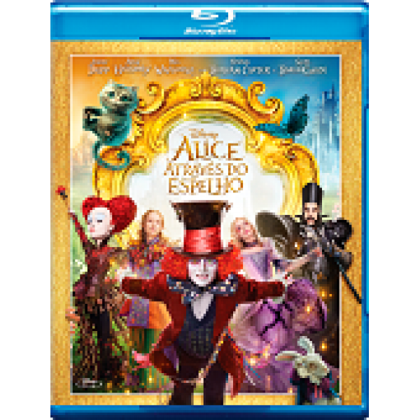 Blu-Ray Alice Através do Espelho