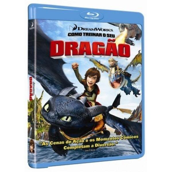 Blu-Ray Como Treinar O Seu Dragão