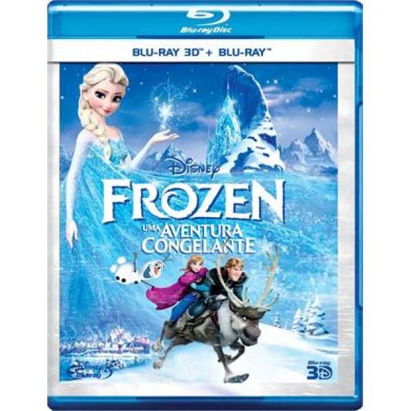 Blu-Ray 3D Frozen - Uma Aventura Congelante