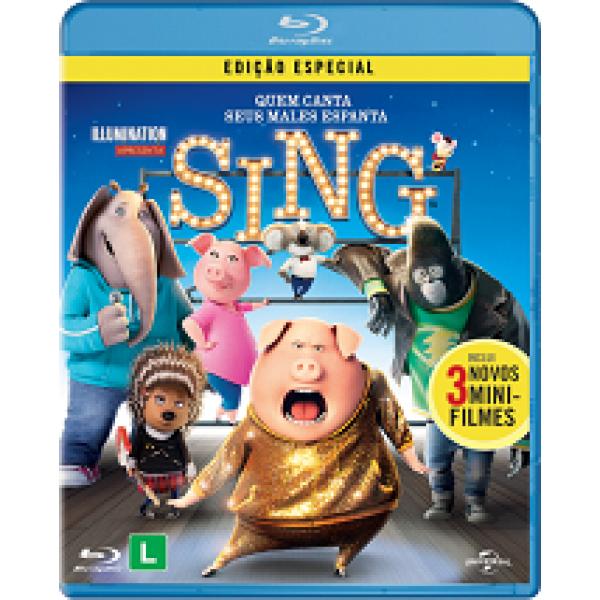 Blu-Ray Sing - Quem Canta Seus Males Espanta (Edição Especial)