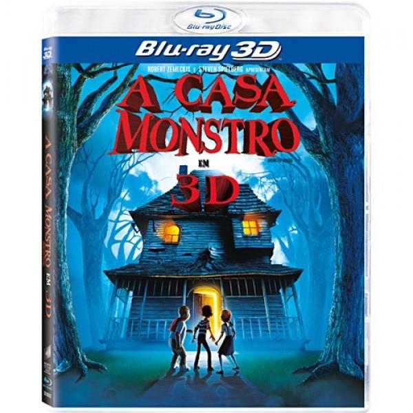 Blu-Ray 3D A Casa Monstro