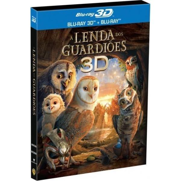 Blu-Ray 3D + Blu-Ray - A Lenda dos Guardiões