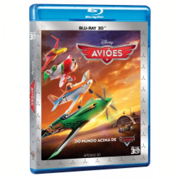 Blu-Ray 3D Aviões
