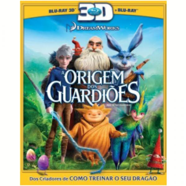 Blu-Ray 3D + Blu-Ray - A Origem dos Guardiões