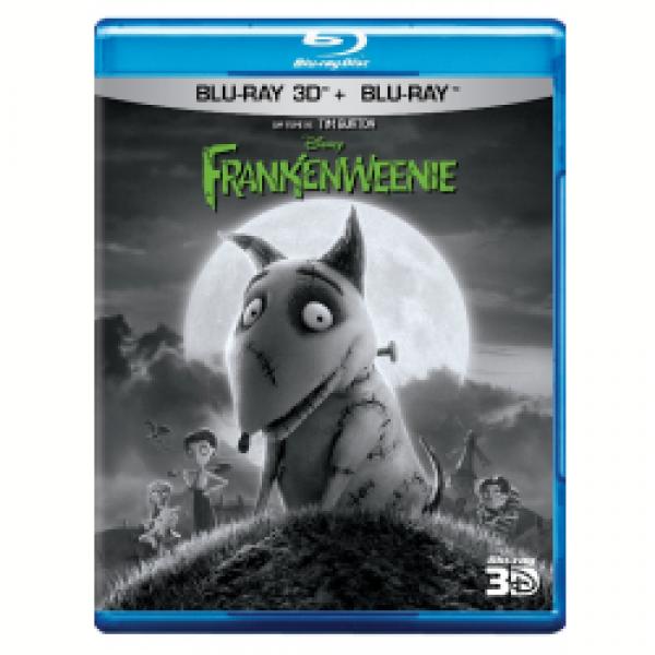 Blu-Ray 3D + Blu-Ray - Frankenweenie