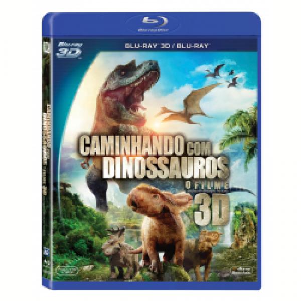 Blu-Ray 3D + Blu-Ray - Caminhando com os Dinossauros