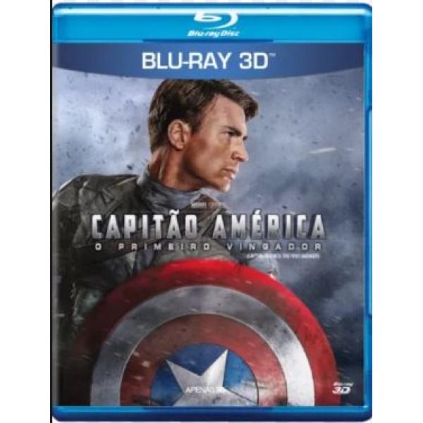 Blu-Ray 3D Capitão América - O Primeiro Vingador