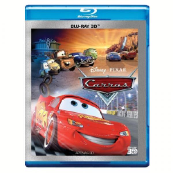 Blu-Ray 3D Carros