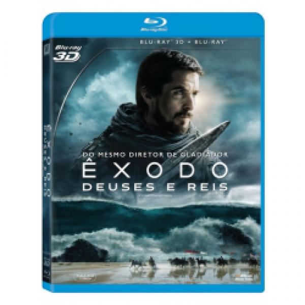 Blu-Ray 3D + Blu-Ray - Êxodo - Deuses e Reis