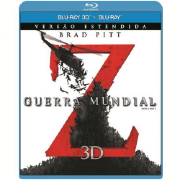 Blu-Ray 3D + Blu-Ray - Guerra Mundial Z