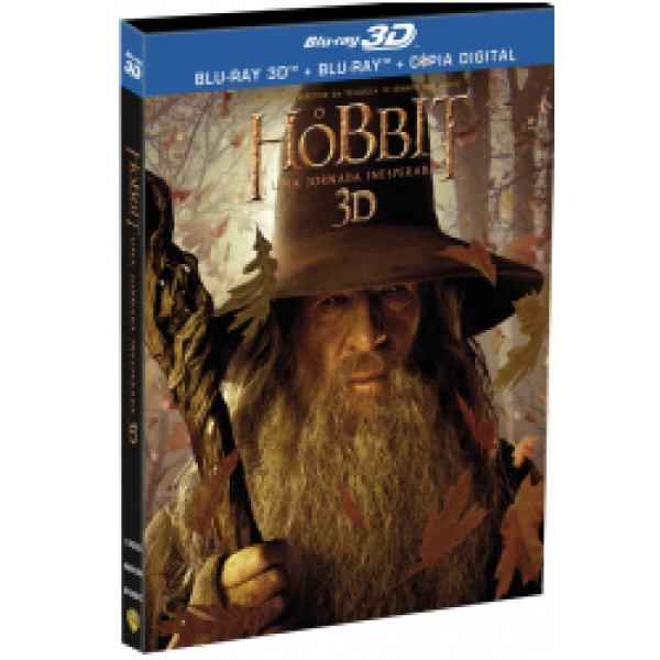 Blu-Ray 3D + Blu-Ray + Cópia Digital - O Hobbit - Uma Jornada Inesperada