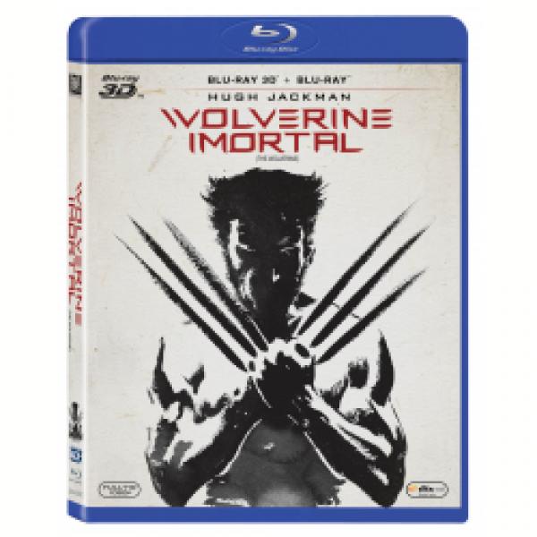 Blu-Ray 3D + Blu-Ray Wolverine Imortal