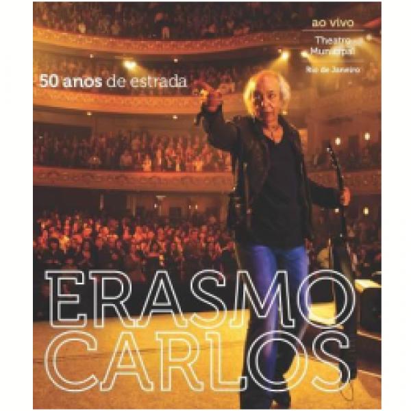 Blu-Ray Erasmo Carlos - 50 Anos de Estrada