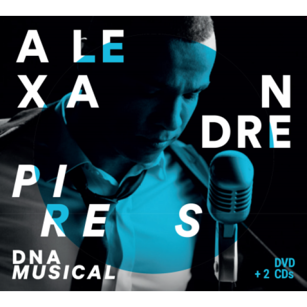 Box Alexandre Pires - DNA Musical (2 CD's + DVD)