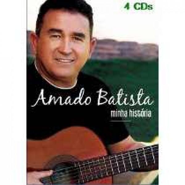 Box Amado Batista - Minha História (4 CD's)