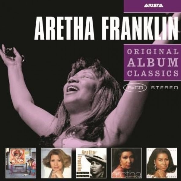 Box Aretha Franklin - Original Album Classics (5 CD's)
