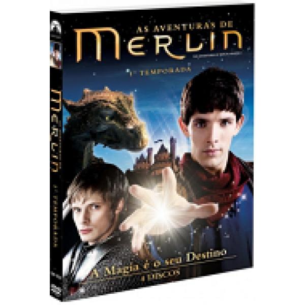 Box As Aventuras De Merlin - 1ª Temporada (4 DVD's)