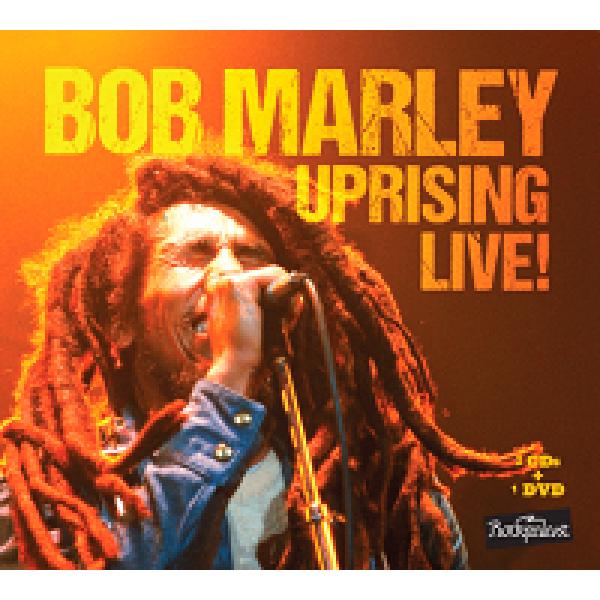 Box Bob Marley - Uprising Live! (2 CD's + DVD)