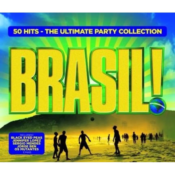Box Brasil! - The Ultimate Party Collection (3 CD's)