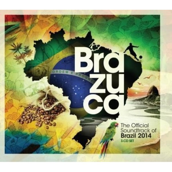 Box Brazuca - The Official Soundtrack Of Brazil 2014 (3 CD's)