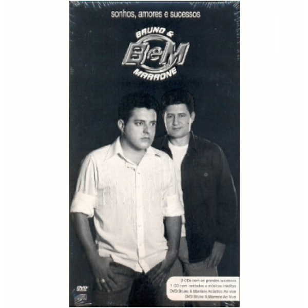 Box Bruno & Marrone - Sonhos, Amores E Sucessos (4 CD's + 2 DVD's)