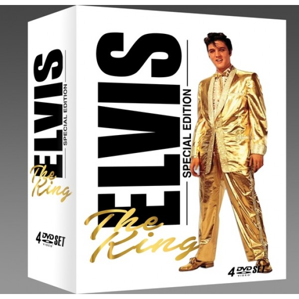 Box Elvis - The King (Special Edition - 4 DVD's)