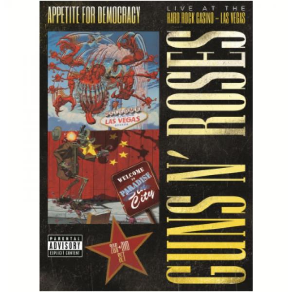 Box Guns N' Roses - Appetite For Democracy (DVD + 2 CD's)