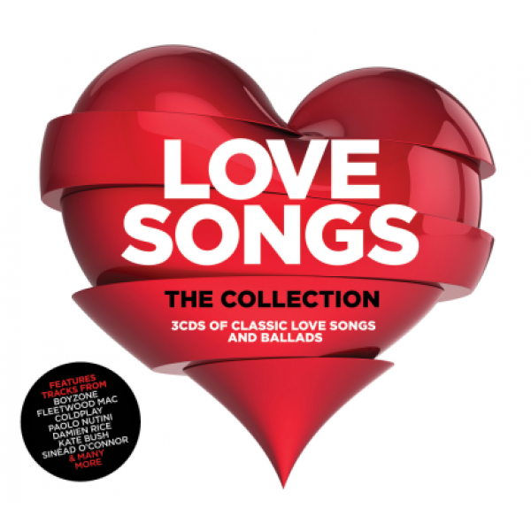 Box Love Songs - The Collection (3 CD's)