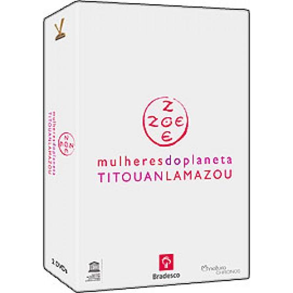 Box Mulheres do Planeta Titouanlamazou (2 DVD's)