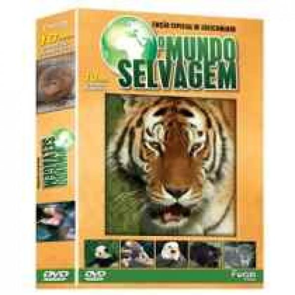 Box O Mundo Selvagem - Edição Especial de Colecionador (10 DVD's)
