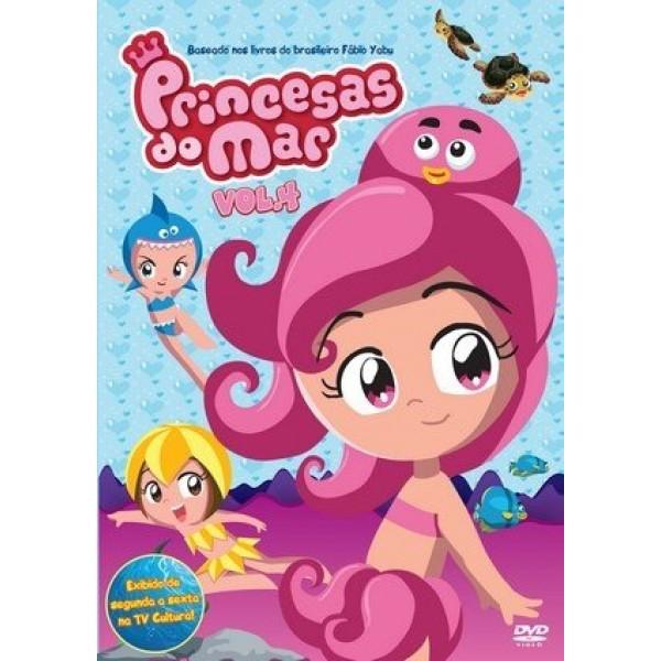 Box Princesas do Mar Vol. 4 (DVD+ Brinde)