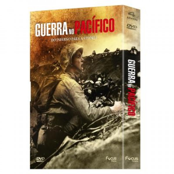 Box Guerra no Pacífico (4 DVD's)