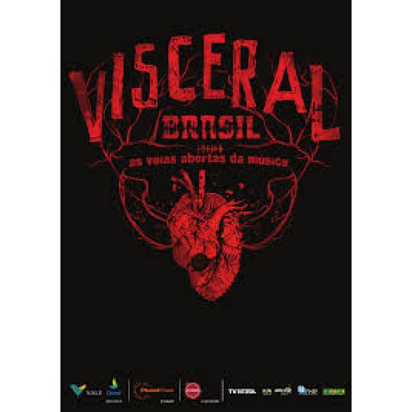 Box Visceral Brasil (4 DVD's)