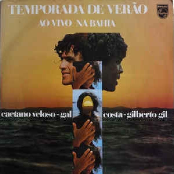 CD Caetano Veloso/Gal Costa/Gilberto Gil - Temporada de Verão: Ao Vivo Na Bahia