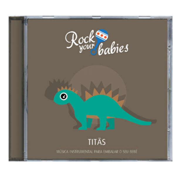 CD Rock Your Babies - Titãs