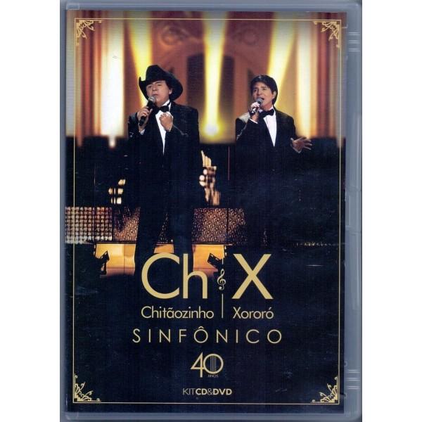 DVD + CD Chitãozinho e Xororó - Sinfônico 40 Anos