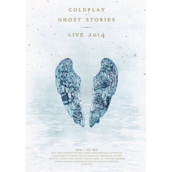 DVD + CD Coldplay - Ghost Stories 2014