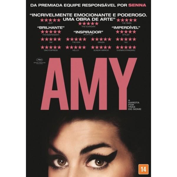 DVD Amy - A Garota Por Trás Do Nome (DUPLO)